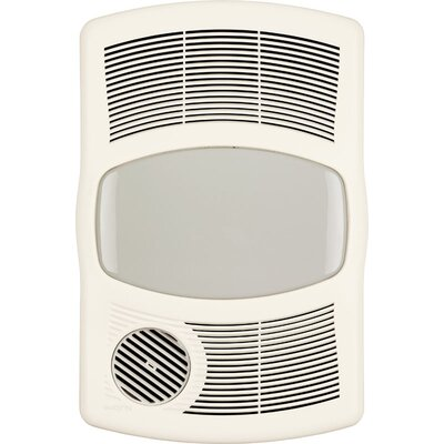 Broan 100 CFM Exhaust Bathroom Fan with Heater