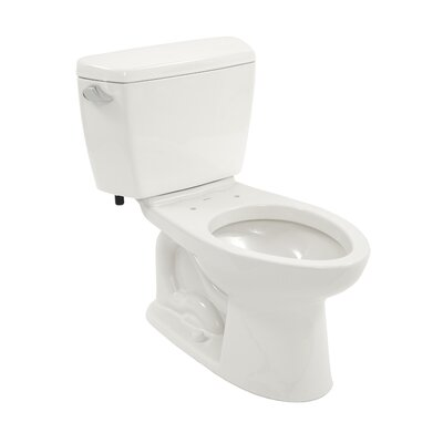 Drake 1.6 GPF Elongated 2 Piece Toilet with SanaGloss Glaze Product Photo