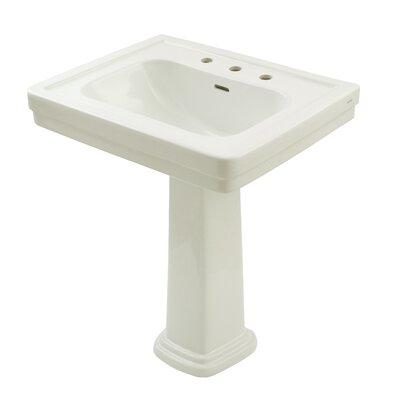 "Promenade 27.5"" Pedestal Bathroom Sink Product Photo"
