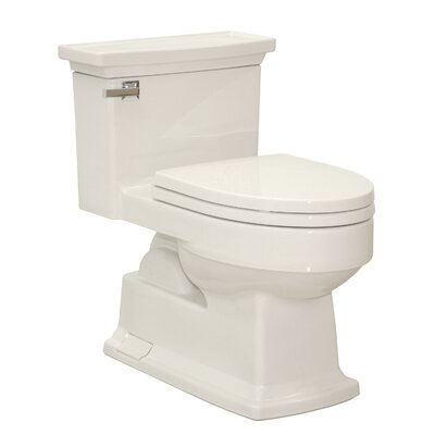 Toto Lloyd Eco 1.28 GPF Elongated 1 Piece Toilet with Gravity Flush