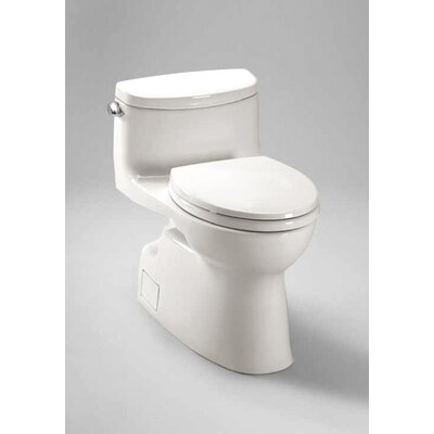 Carolina II High Efficiency 1.28 GPF Elongated 1 Piece Toilet with Sanagloss Product Photo