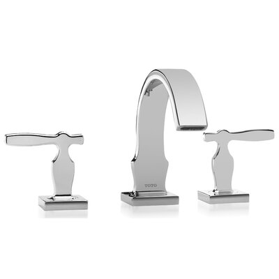 Aimes Double Handle Widespread Bathroom Faucet Product Photo
