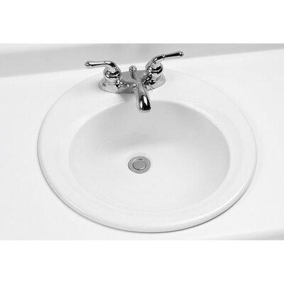 "Toto 19.5"" Self Rimming Bathroom Sink"