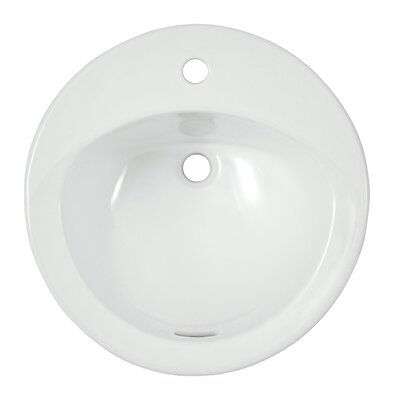 Ultimate Self Rimming Bathroom Sink with SanaGloss Glazing by Toto