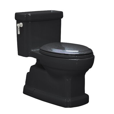 Guinevere ADA Compliant 1.28 GPF Round 1 Piece Toilet Product Photo