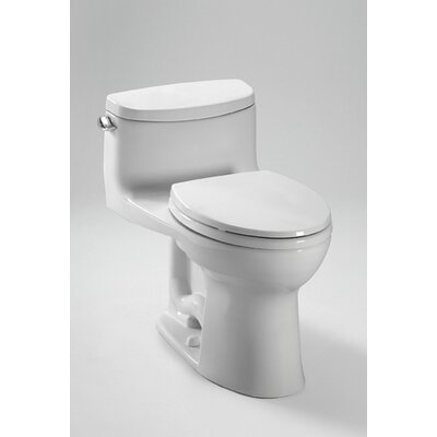 Supreme II High Efficiency 1.28 GPF Elongated 1 Piece Toilet with Sanagloss Product Photo