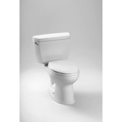 """Drake Eco 1.28 GPF Elongated 10"""" Rough-In 2 Piece Toilet Product Photo"""
