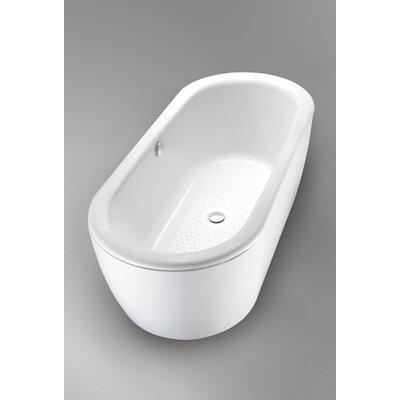 "Cast 67"" x 30""  Soaking Bathtub Product Photo"