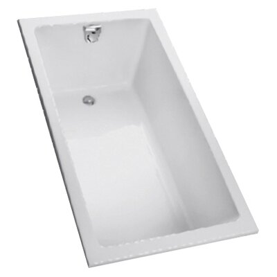 """Toto Enameled  60"""" x 30"""" Soaking Bathtub"""