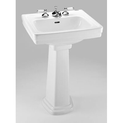 "Promenade 24"" Pedestal Bathroom Sink Product Photo"