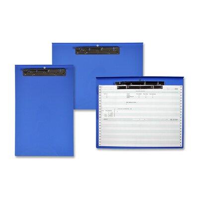 "Lion Office Products Computer Printout Clipboard, 15-3/4""x12-3/4"", Blue"