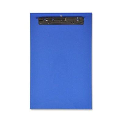 "Lion Office Products Computer Printout Clipboard, 18-2/3""x11-5/8"", Blue"