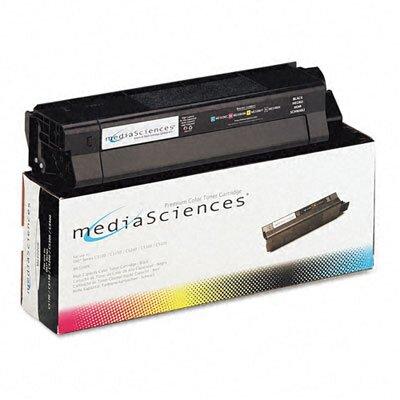 Media Sciences MS5000K (42127404) Toner Cartridge, High-Yield, Black