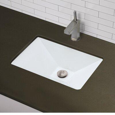 Classically Redefined Pyramidal Undermount Bathroom Sink Product Photo