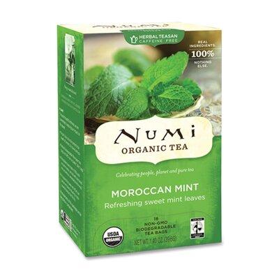 NUMI Organic Tea Teas and Teasans, 1.4 Oz, 18/Box