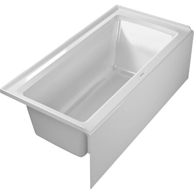 duravit architec 60 x 30 soaking bathtub reviews wayfair