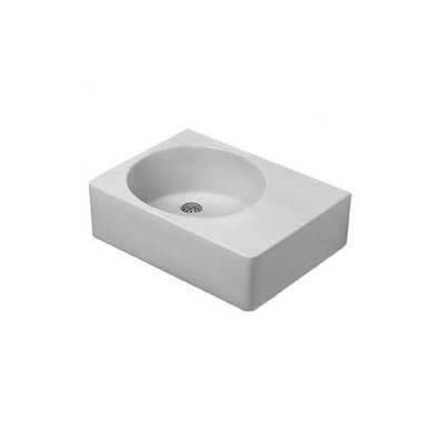 Scola Above Counter or Wall Mount Bathroom Sink by Duravit