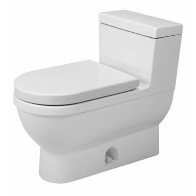 duravit starck 3 gpf elongated 1 piece toilet. Black Bedroom Furniture Sets. Home Design Ideas