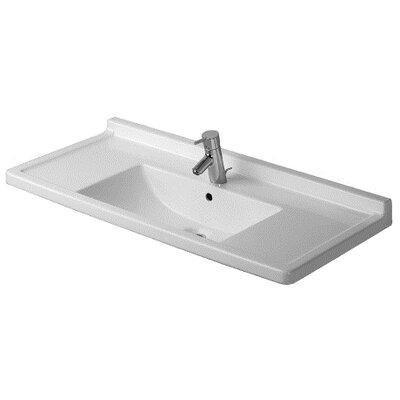 Duravit Starck 3 Furniture Bathroom Sink