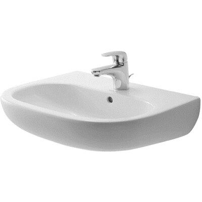 D-Code U-Shaped Wall Mount Bathroom Sink II Product Photo