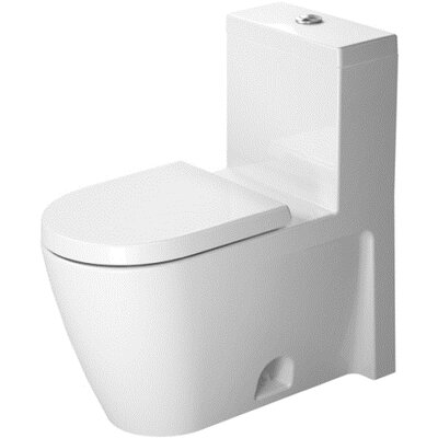 Starck 2 1.28 GPF Elongated 1 Piece Toilet Product Photo