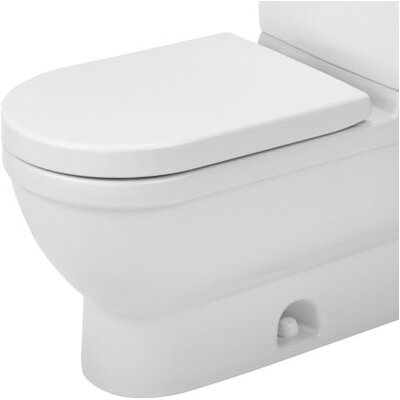 Starck 3 Elongated Toilet Bowl Only Product Photo