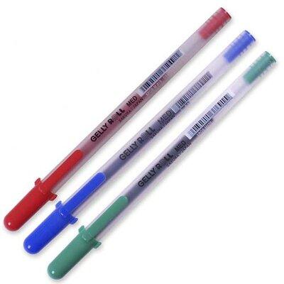 Sakura of America Rollerball Gel Pen, Medium, Black