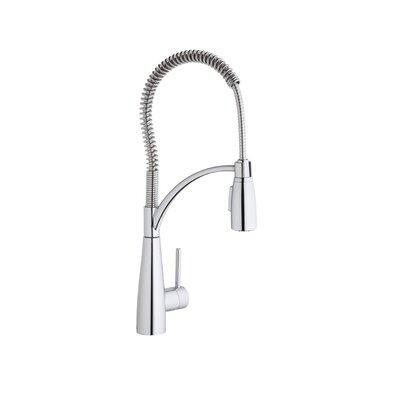 Avado Single Handle Deck Mount Kitchen Faucet with Pre Rinse Spray by Elkay