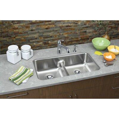 """Elkay Gourmet 32.06"""" x 18.5"""" Kitchen Sink"""