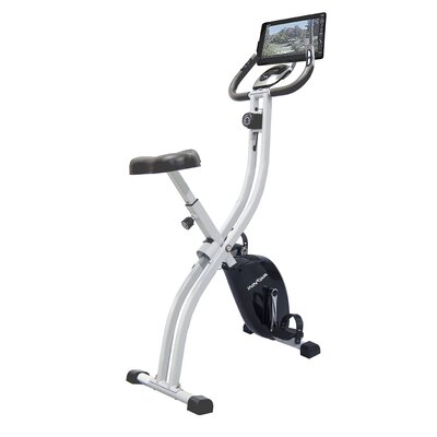 Innova XB350 Folding Upright Bike with iPad / Android Tablet Holder by Innova Fitness