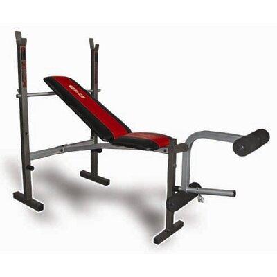 Innova WBX200 Deluxe Standard Weight Bench by Innova Fitness