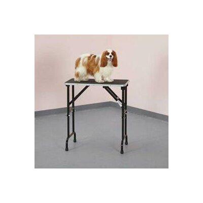 Master Equipment Adjustable Height Grooming Pet Table