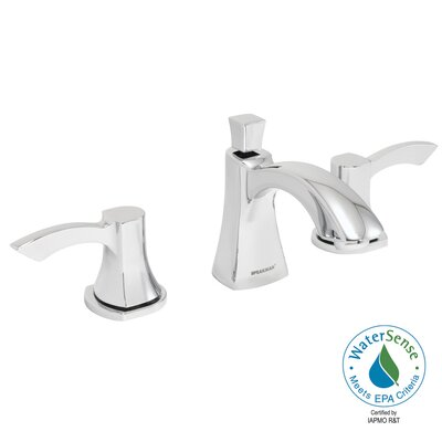 Tiber Double Handle Widespread Bathroom Faucet with Drain Product Photo
