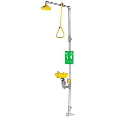 Speakman Safe-T-Zone Traditional Series Emergency Combination Shower