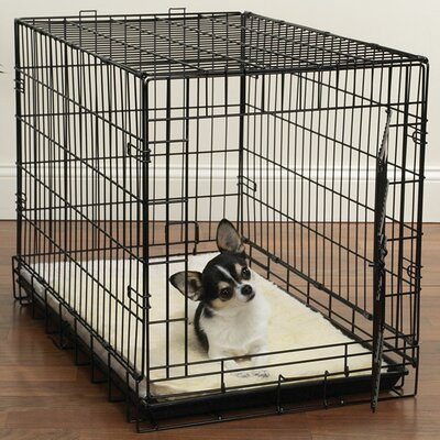 Slumber Pet Double Sided Sherpa Crate Dog Mat