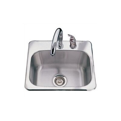 "19"" x 17"" 2 Hole Bar Sink Product Photo"