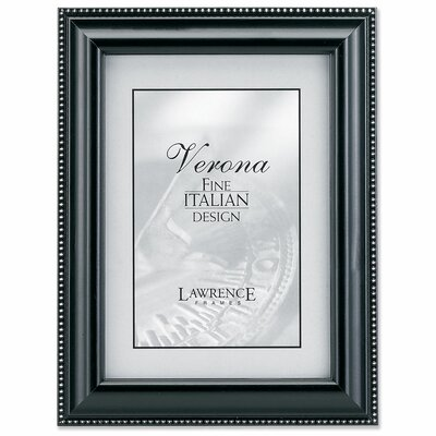 Wood Picture Frame with Silver Bead by Lawrence Frames