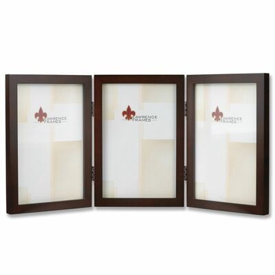 Hinged Triple Picture Frame by Lawrence Frames