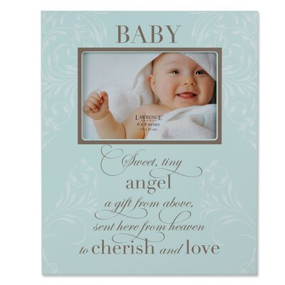 Baby Plaque Picture Frame by Lawrence Frames