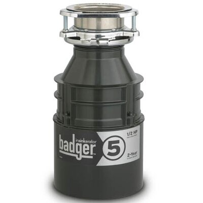 Badger Series 1/2 HP Garbage Disposal with Continuous Feed Product Photo