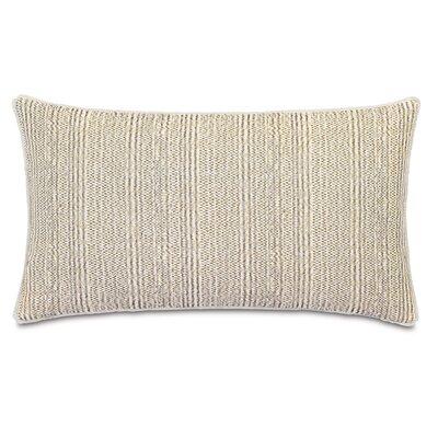Truman Sashiko Mud Lumbar Pillow by Niche