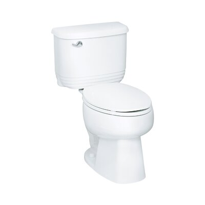 """Sterling by Kohler Riverton 12"""" Rough-in 1.6 GPF Elongated 2 Piece Toilet"""