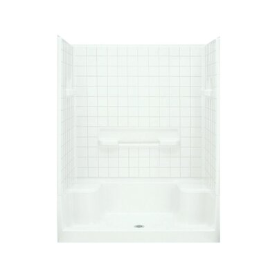 """Advantage 60"""" Seated Shower Kit with Age-in-Place Backers Product Photo"""