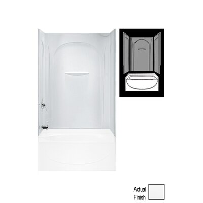 """Sterling by Kohler Acclaim 3-Piece 30"""" x 60"""" x 55.5"""" Wall Set with Age-in-Place Backers"""