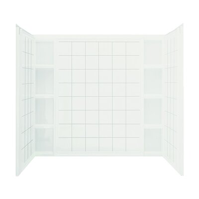 "Ensemble 3-Piee 43.5"" x 60"" x 54.25""  AFD Wall Set Product Photo"