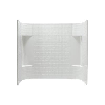 "Accord 3-Piece 31.25"" x 60"" x 56.25"" Tile Wall Set Product Photo"
