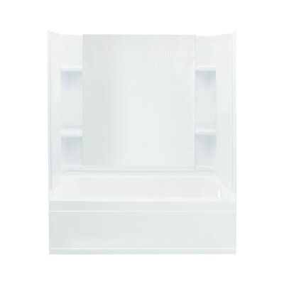 Accord Bath/Shower Kit with Right Hand Drain and Age-In-Place Backers Product Photo