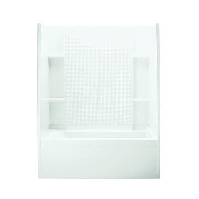 "Accord 60"" x 36"" x 74"" Right Hand Bath/Shower Kit with Age in Place Backers Product Photo"