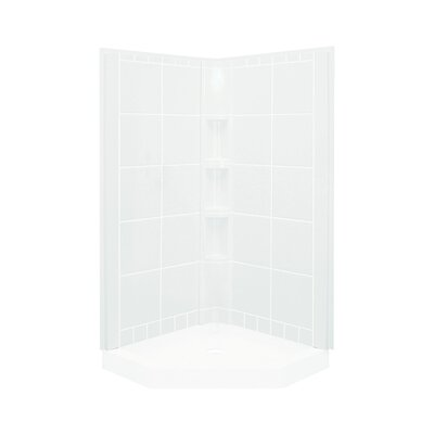 "Intrigue 2-Piece 40.25"" x 80.125"" Wall Set with Age-in-Place Backers Product Photo"