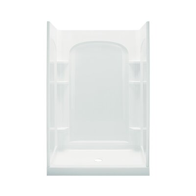 "Ensemble 48"" Curved Shower Kit with Age-in-Place Backers Product Photo"
